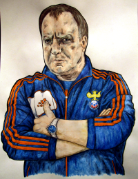 Dick Advocaat, monkeyswithbrushes