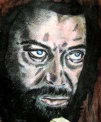 Gaal, Earth 2, Tim Curry, monkeyswithbrushes