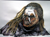 Uruk-hai, Lord of the Rings, monkeyswithbrushes